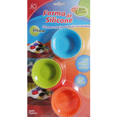 Formas para cupcake silicone