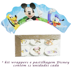Kit Decorao Cupcakes Disney - Tema Mickey
