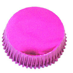 Forminha para Cupcake Pink Metalizada