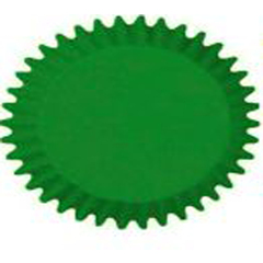 Forminhas para Cupcake Verde N0 - Mago