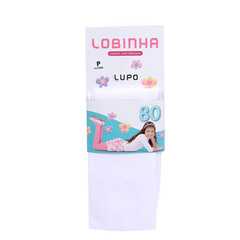 MEIA CALA INFANTIL LOBINHA FIO 80 LUPO 2526