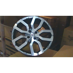 Roda BRW720 - (4x100) - Big Rodas (17x7) - Chrome Black Diamond *CONSULTE ENTREGA*