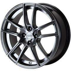 Roda NV 25 (4X100) NOOVA (17X7)  Chrome Shadow *PRONTA ENTREGA*