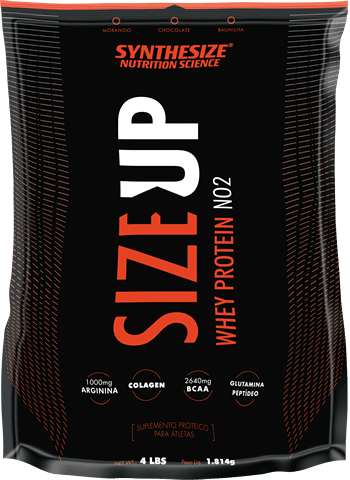 """Synthesize"" Whey Size Up NO2 - 1814g"