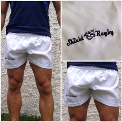 Shorts Básico Branco - Shield Rugby